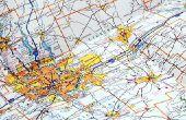 Hoe te berekenen kilometers tussen twee locaties