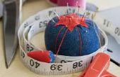 Hoe Hem een trui door naaien