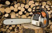 How to Build een houten snijden Stand voor Chain Saw snijden
