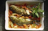 Wat Is de rustieke gebakken Italiaanse Haddock?