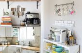 10 ideeën voor een kleine keuken remodelleert op een begroting