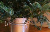 Hoe maak je eigen kerstboom-Stand
