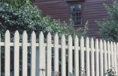 Hoe lang moet een piket hek?
