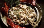 How to Cook kip & bruine rijst in een Nederlands Oven