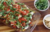 Makkelijk te maken Taco Casserole
