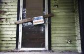 Wat kan een kredietnemer verwijderen uit een verhinderd huis?