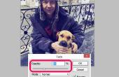 Het aanpassen van de dekking in Adobe Photoshop