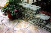Hoe te handhaven gestempelde beton