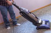 Hoe schoon tapijten met witte azijn