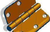 How to Change deur scharnier Pins