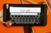 Laat het zien op een BlackBerry wanneer iemand het schrijven van een bericht?
