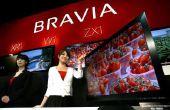 Hoe maak een Ethernet-verbinding naar een Sony Bravia