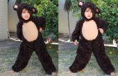 Hoe maak je een beer kostuum