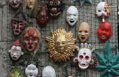 Hoe maak je eenvoudig papier Mache maskers