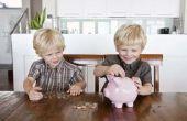 Hoe om aandelen te kopen als cadeau voor kinderen