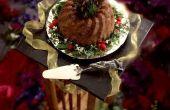 Kan ik een datum notentaart zoals een Christmas Pudding koken?
