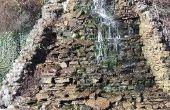How to Build een achtertuin waterval waden vijver