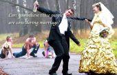 Hoe Word grappige bruiloft receptie uitnodigingen