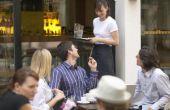 Hoeveel geld maakt een gemiddelde serveerster Per maand?
