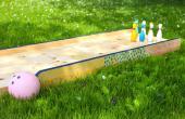 How to Build een achtertuin bowlingbaan voor kinderen