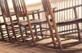 Hoe te identificeren van de symbolen op de bodem van oude schommelen stoelen
