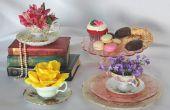 Hoe maak je een theekopje Floral regeling