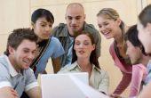 Voor- en nadelen van groep werken in een klas situatie