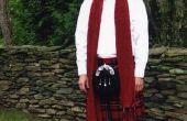 Hoe maak je een Schotse rozet & Sash