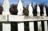Ambachtelijke ideeën met behulp van oude houten Picket Fences