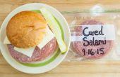 Hoe te bevriezen van Deli vlees