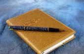 Ideeën over wat te schrijven in een dagboek
