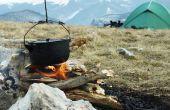 Camping voedingsmiddelen die Hold Up zonder koeling
