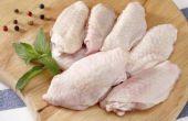 Hoe voor te bereiden citroen-peper kippenvleugeltjes