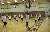 Lichamelijke opvoeding activiteiten voor de Middelbare School