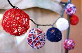 Hoe maak je patriottistische String Lights voor the Fourth of July