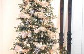 Hoe te zetten lint Garland op een kerstboom