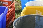 Hoe te repareren van een gat in een Plastic Container