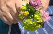 Carrière met bloemen