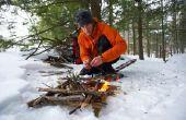Lijst van de zeven prioriteiten voor overleving in een Backcountry of de locatie van de wildernis