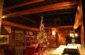 Kerst Lodge dat Ideeën verfraait