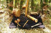 Welke instrumenten heeft het gebruik van de Maya's om muziek te spelen?