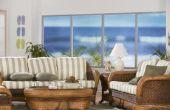 Hoe om te kleuren van uw rotan meubelen