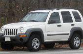 How to Reset de bandenspanning monitoringsysteem in een Jeep Liberty