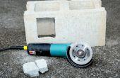 Hoe te knippen betonnen blokken met een Haakse slijper