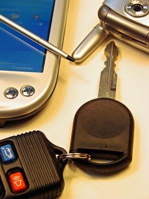 sleutel mini cooper openen