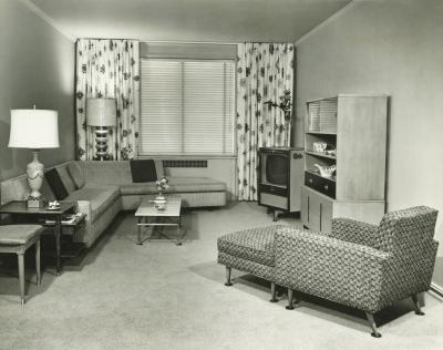Interieur in de jaren 39 50 jaren 39 60 for Interieur 1960