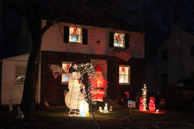 Buiten kerst licht decoraties ideeën - wikisailor.com