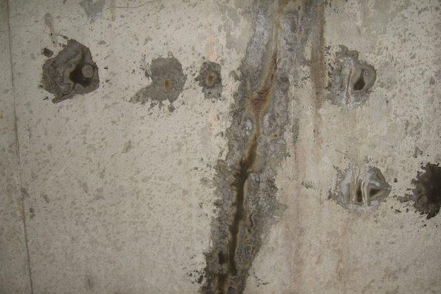 muur gaten vullen