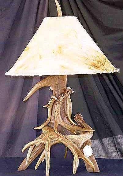 Hoe maak je een herten gewei lamp for Lamp gewei