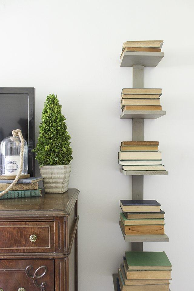 Hoe maak je een verticale boekenkast - wikisailor.com